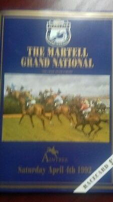 The Martell Grand National Racecard 1992