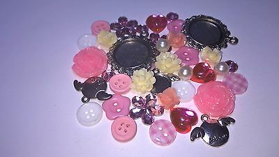 New 28 Charm Pack Ideal Embelishments for Cardmaking Art & Craft scrapbook Craft