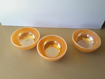 Fire King USA  oven ware  THREE bowls