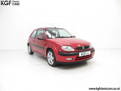 An Exceptional Unmodified Citroen Saxo VTS, 52971 Miles and Full Citroen History