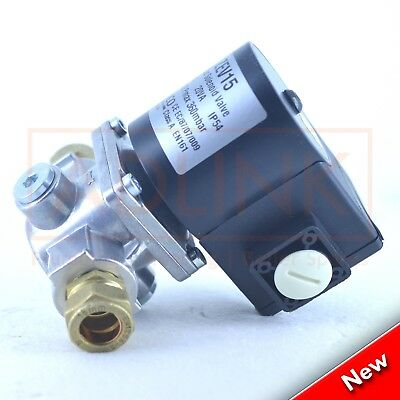 GAS SOLENOID VALVE 22mm COPPER PIPE 4 GAS INTERLOCK VENTILATION SYSTEM SHUT OFF