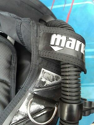 Mares Aria Dragonfly BCD size M Integrated Weight Pockets scuba diving