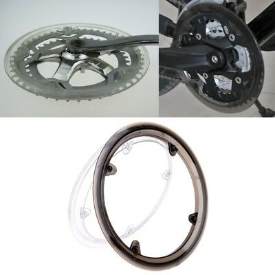 MTB Bike Bicycle Cycling Crankset Wheel Cover Guard Chain Protective Plastic Cap