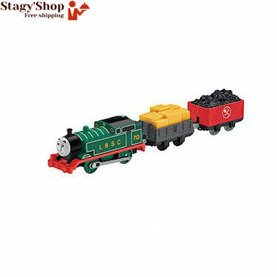 Fisher-Price – Thomas et ses Amis Trackmaster Locomotive Motorisée Wagons