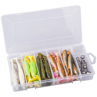 NEW Savage Gear Fat Minnow T-Tail Lure Fishing Kit - 50376