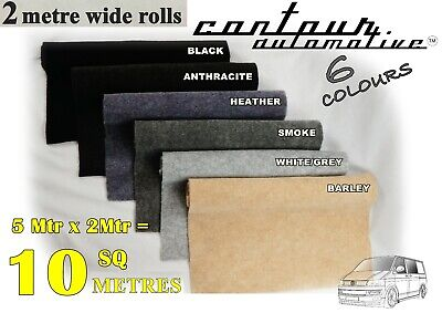 10 Sqm Camper Van Campervan Carpet Lining Trim Caravan Truck Coach Boat Kit Car