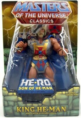 MOTU - King He-Man - AFA 9.0 - Neu&OVP - MOTUC - Masters of the Universe