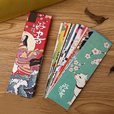 30pcs Japanese Style Book Page Mark Note Label Memo School Office Decor