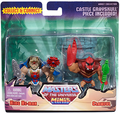 MOTU Mini- King He-Man and Clawful - AFA 9.0 - Neu&OVP - Masters of the Universe