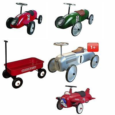 Classic Ride on Toys - Classic Racer Car & Retro Racer Toddler Ride On FREE P&P