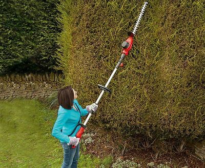 Bergman Telescopic Hedge Trimmer Garden Cutter Electric Tool 3m Reach Long Blade