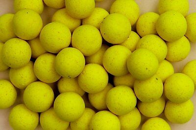 PopUp Boilies Mainline Yellow Various Flavours Carp Fishing 14mm Free Glug