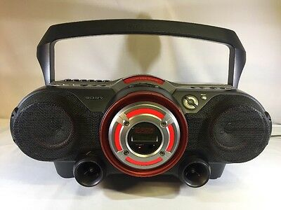 Sony CFD-G500 CD/Radio/Cassette Recorder Boombox Power Woofer