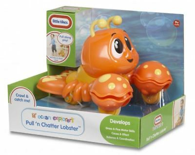 Little Tikes Pull n' Chatter Lobster - FREE P&P