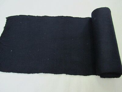 Antique Hand Woven Fabric 100%  Wool Never Used Folk Costume Homespun Aba Pojas