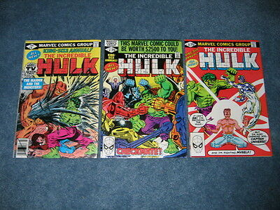 Incredible Hulk Lot of 3 King Size Annual #8, 9, 10 Marvel Brand New