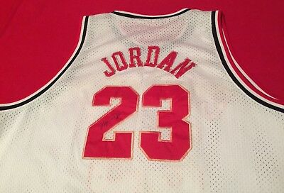 Michael Jordan Signed Autographed Jersey NBA Chicago