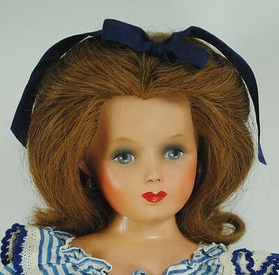 Monica Of Hollywood Studio Rooted Hair Composition 1940's Doll