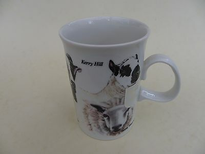 "Dunoon Stoneware Mug, ""Best of Breeds"" by Mary Griese, Sheep."