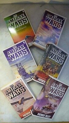 The Amtrak Wars Complete Book Set (Full set of 6 PB books) - Patrick Tilley VG++