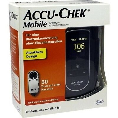 ACCU CHEK Mobile Set mg/dl III 1 St Roche Diabetes Care Deutschland GmbH