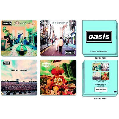 Oasis - Offical Coasters Set of 4.