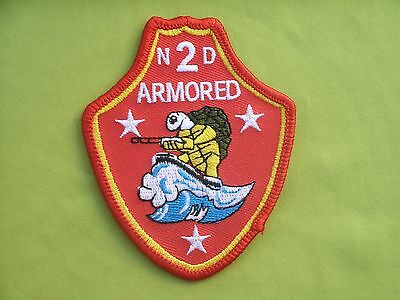 USMC Marines Marine Corps 2nd Armored Division Military Patch