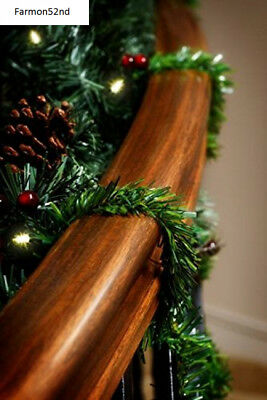 Christmas Garland Ties 20 pack 14 inches (Noble Fir)