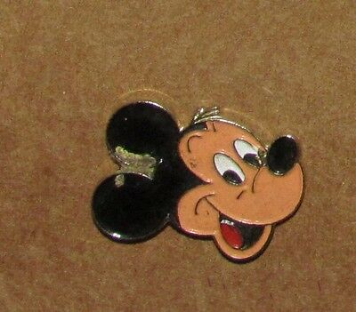 A-4 Vintage Pin Mickey Mouse Face Old