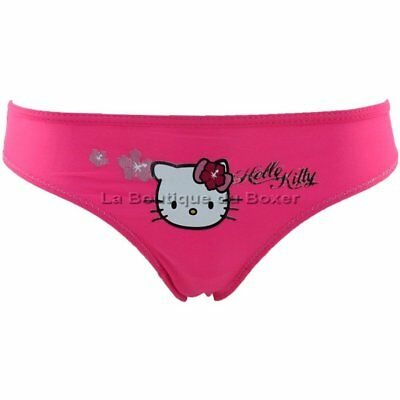 HELLO KITTY Shorty Bain Moulant Fille FLEUR Orange