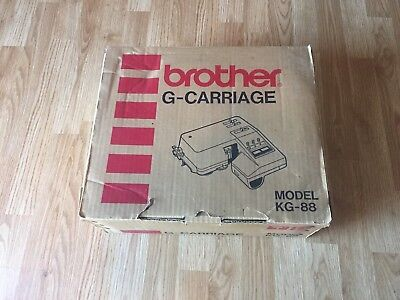 Brother G Carriage KG-88 For Knitting Machine