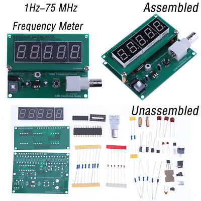 1Hz-75 MHz Frequency Cymometer Meter Counter Frequency Measurement Tester Module