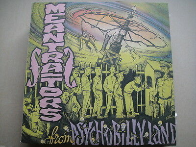 MEANTRAITORS - 'FROM PSYCHOBILLY LAND' RUSSIAN Psychobilly LP