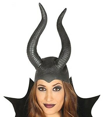 Cappello Copricapo Lattice Con Corna Malefica Maleficent Strega 13998