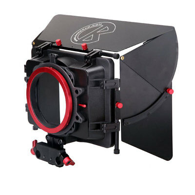 Kamerar MAX1 Mattebox con French Flag per Supporto a Spalla RIG con Rods 15mm