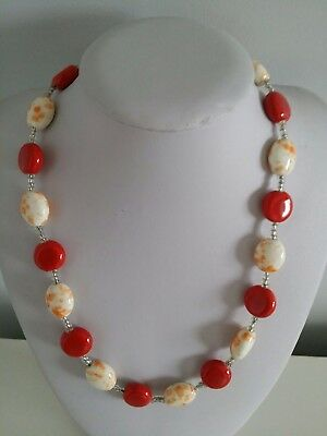 Ethnic tribal African Kenyan KAZURI  BEAD necklace