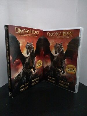 ** DragonHeart - 4-Movie Collection (DVD) - Free Shipping!