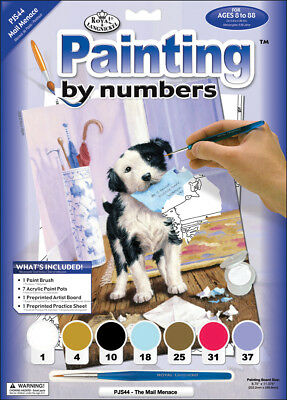 "Junior Small Paint By Number Kit 8.75""X11.75"" The Mail Menace PJS44"