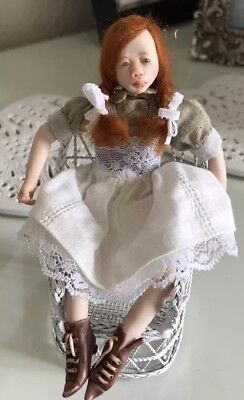 Artist Doll By Jacky Mullen With COA