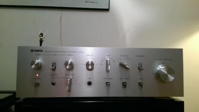 YAMAHA CA-400 vintage stereo amplifier with 2 phono stage