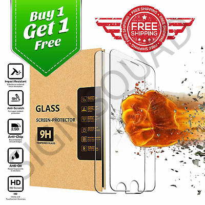 100% Genuine High Quality Tempered Glass Screen Protector for Apple iPhone 8