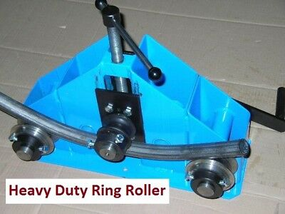 Heavy Duty Ring Roller / Roll Bender - Round/ Square /Flat Bars,Tubes
