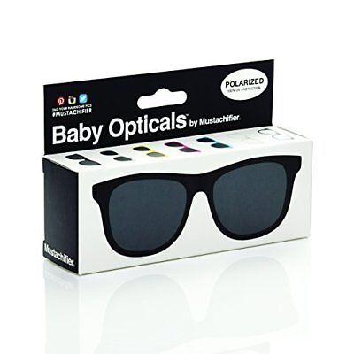 FCTRY - Baby Opticals, Black Polarized Sunglasses, Ages 0-2