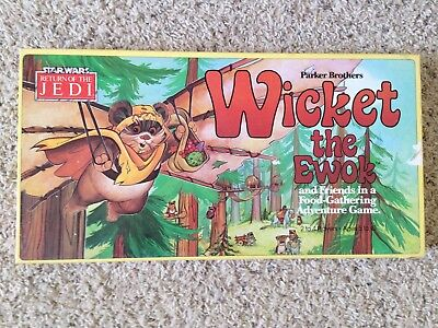 Star Wars Return of the Jedi Wicket the Ewok 1983 Parker Bros Boardgame