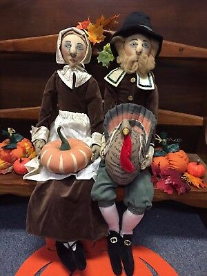 Joe Spencer Gathered Traditions Prudence Pilgrim (65766) & Myles Pilgrim(65765)