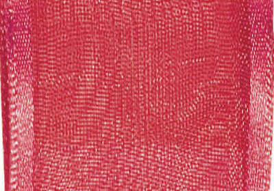 "Wired Arabesque Ribbon 1 1/2""X9' Red 6277 1.5-250"