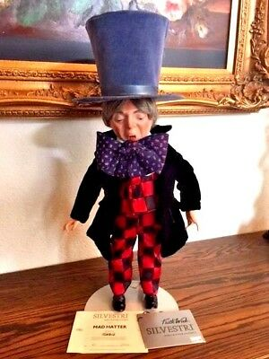 """Alice In Wonderland """"mad Hatter"""", Faith Wick - Silvestri Dollcrafter Classics"""