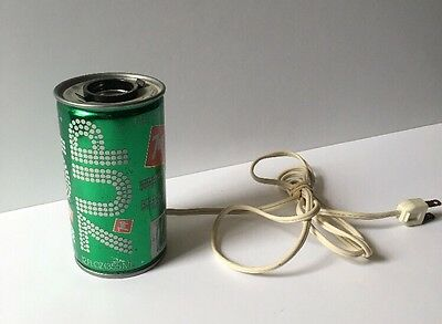 7 UP THE UNCOLA 1970's SODA CAN NOVELTY LAMP LIGHT VINTAGE