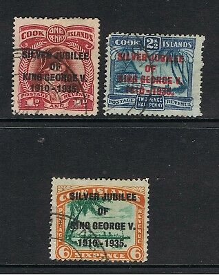 Cook Islands 1935 King George V Silver Jubilee