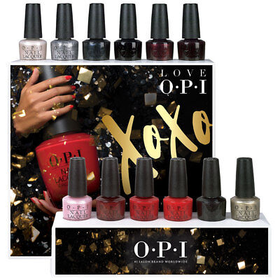 OPI ~*** LOVE OPI XOXO Holiday 2017 Collection ***~ NEW, UNUSED, AUTHENTIC!